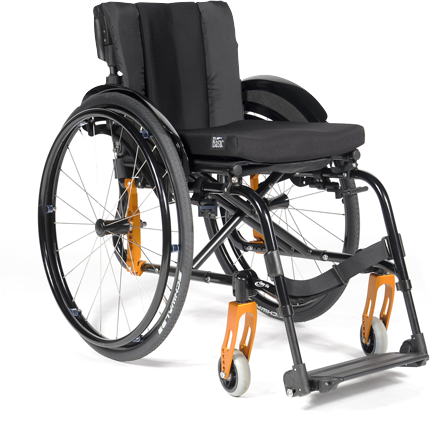 One of our wheelchairs